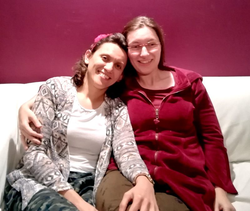 Der Hochzeitstrancetanz von Mella und Sanni im Mai